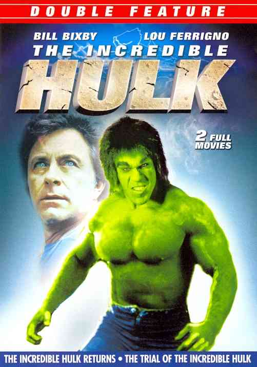 INCREDIBLE HULK RETURNS/TRIAL OF HULK BY BIXBY,BILL (DVD)